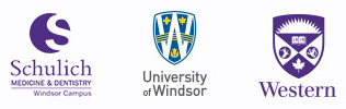 Schulich, University of Windsor and Western logos