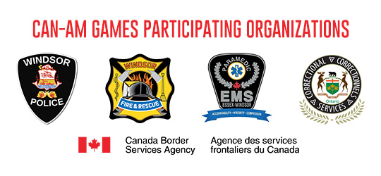 Participating organizations: police, fire, E.M.S., Corrections, Border Services