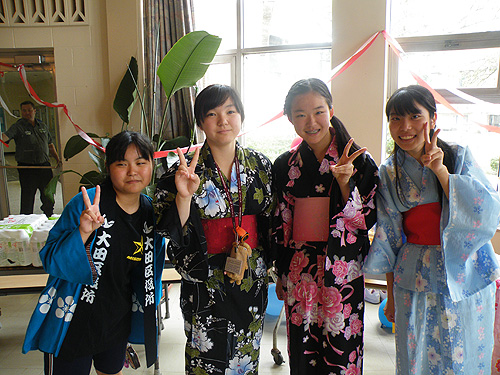 Misono Girls in traditional costume