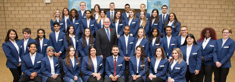 Mayor Dilkens and the Mayor's Youth Leadership Team