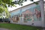 Queen Victoria's 35th Birthday Mural, Windsor, Ontario, Canada, Monument, Memorial, Mackenzie Hall
