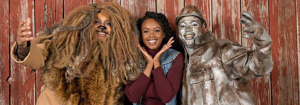 "Actors in ""The WIZ"" by Arts Collective Theatre, 2018"