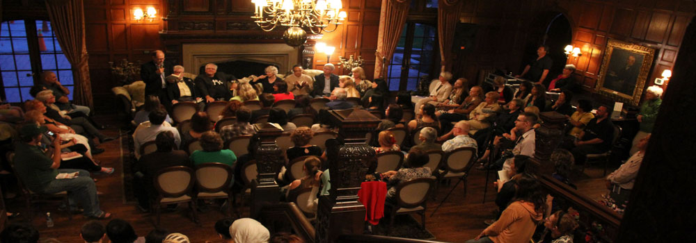 Poetry at the Manor Event at Willistead Manor, 2014