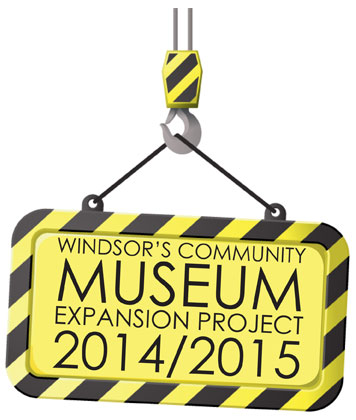 Windsor's Community Museum Expansion Project Logo