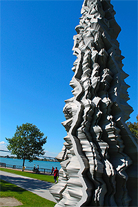 Tower Song Sculpture