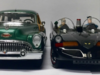 Models from Diecast exhibition