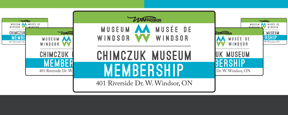 Membership Cards for Museum Windsor