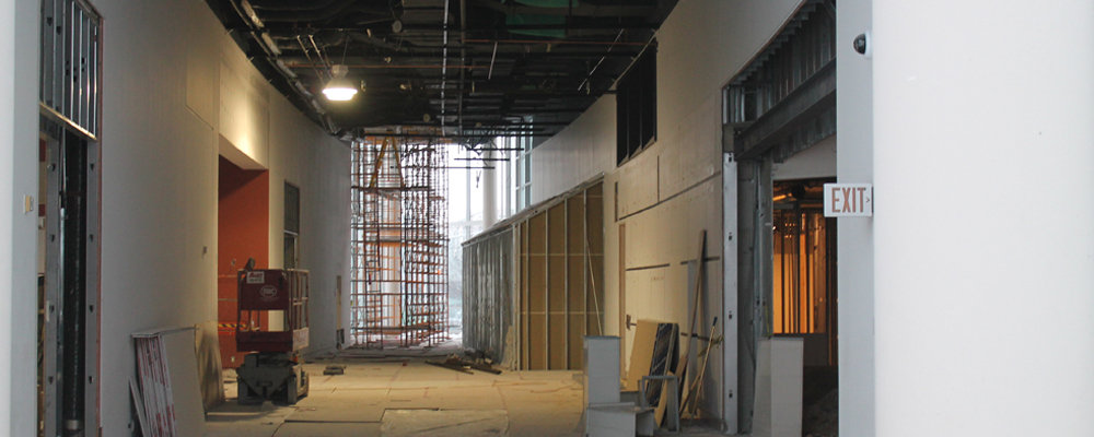 Museum Windsor Expansion Project progress at the Chimczuk Museum - 401 Riverside Dr. W.​