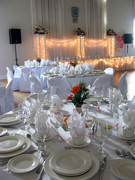 you are looking for an elegant wedding reception, or a catered lunch ...