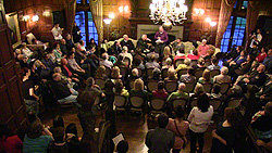 Poetry event at the Manor