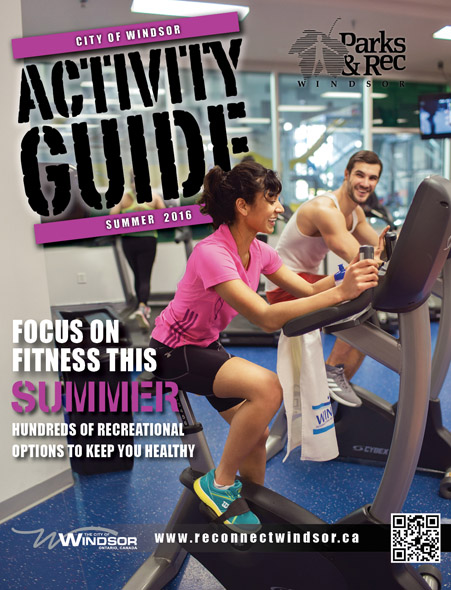 Summer Activity Guide - exercise bikers at W.I.A.T.C. Fitness Centre