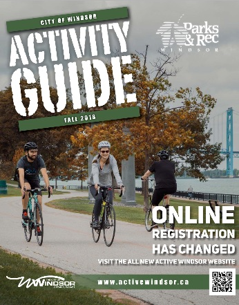 Cover of recent Activity Guide