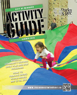 Summer Activity Guide - girl playing in parachute