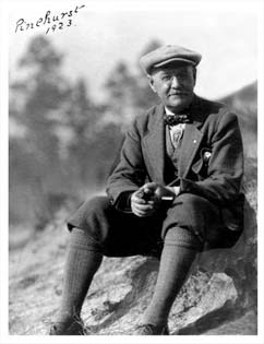 Portrait of Donald Ross
