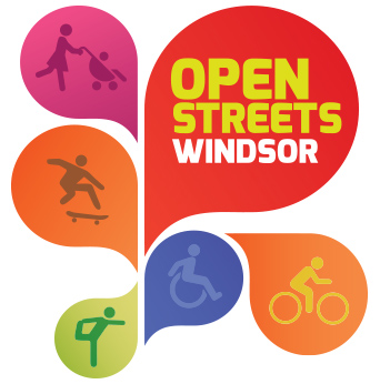 Open Streets Windsor logo