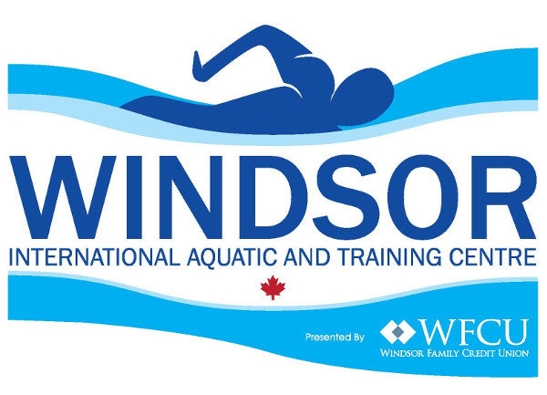 Windsor International Aquatic and Training Centre Presented by WFCU Credit Union logo