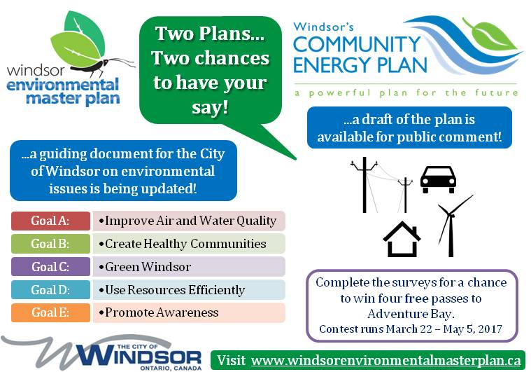 Two plans, two chances to have your say