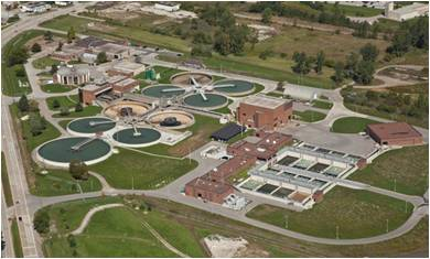 the lou romano water reclamation plant