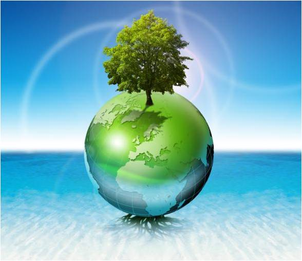 Sustainable earth image