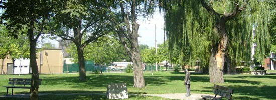 a landscape view of Alton Parker Park