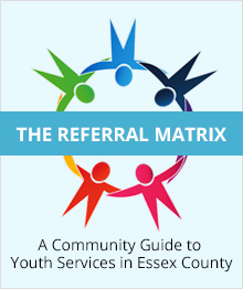 Referral Matrix logo and website link