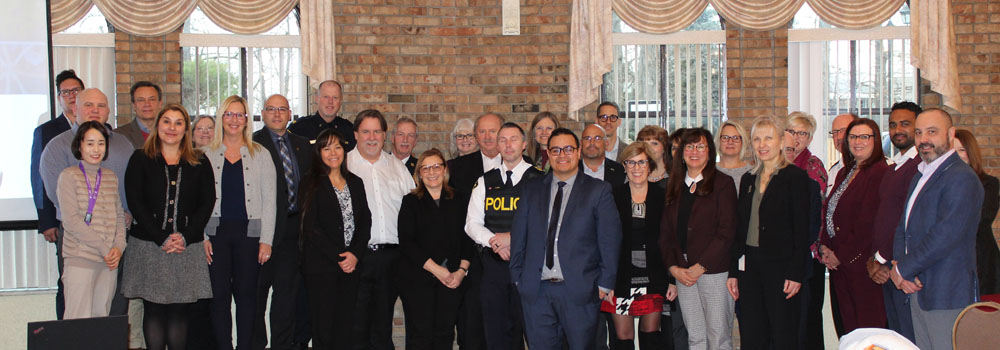 Community Safety and Well-Being Leadership Group Photo