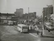 Historical picture of Downtown Bus Terminal