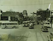 Buses at Oulette Avenue