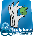 Sculptures and Monuments map button